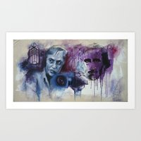Corman and Poe Art Print
