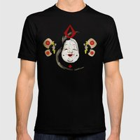J_mask Mens Fitted Tee Black SMALL