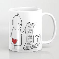 I Love You... A Lot. Mug