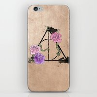 The Deathly Hallows iPhone & iPod Skin