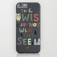 iPhone & iPod Case featuring Not What They Seem by ilana exelby