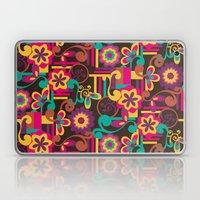 Arabesque Floral Laptop & iPad Skin