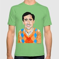 The 40 Year Old Virgin Mens Fitted Tee Grass SMALL