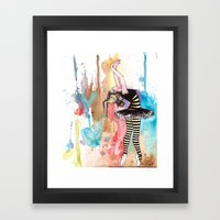 I Want To Melt With The … Framed Art Print