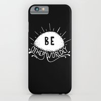 iPhone & iPod Case featuring Be Otherworldly (wht) by Victor Castro
