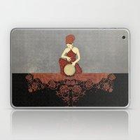 Rastafari Woman On Bongo… Laptop & iPad Skin