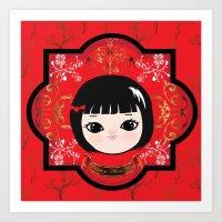 The Lunar New Year-Littl… Art Print