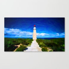 The Lighthouse - Painting Style Canvas Print