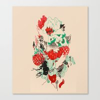 rebirther Canvas Print