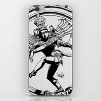 Natraj Dance - Mono iPhone & iPod Skin