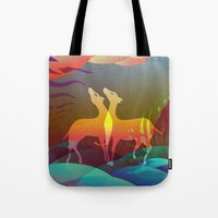 Space of Non-Duality Tote Bag