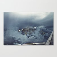 Cloud Park Canvas Print