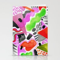 Vibrance Watercolour  Stationery Cards