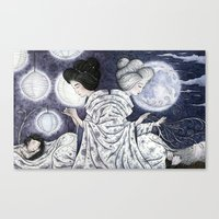 Duality Discovered Canvas Print