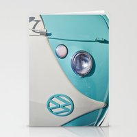 Classic VW Camper Stationery Cards
