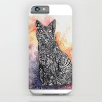 iPhone & iPod Case featuring Black Cat by Katy Betz