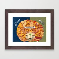 Samson Framed Art Print