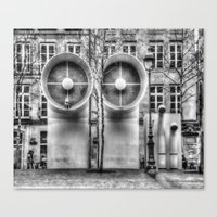 Pompidou center Canvas Print