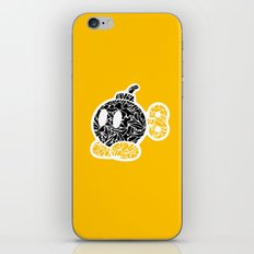 Bob Omb #CrackedOutBadGuys iPhone & iPod Skin