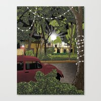 Mexico City Canvas Print