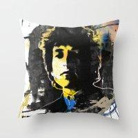 bob dylan 06 Throw Pillow