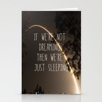 Dreaming Or Sleeping Stationery Cards