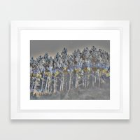 barrage (back to unnatural) Framed Art Print