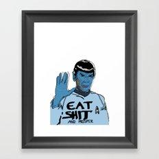 and prosper Framed Art Print