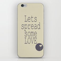 Spread Some LOVE iPhone & iPod Skin