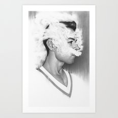A Perfect Nothing Art Print