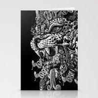 Jaguar Warrior Stationery Cards