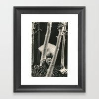 Oyster Boy - tim burton Framed Art Print