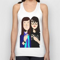 Best Friends Forever Unisex Tank Top