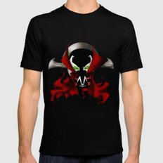 Chibi Spawn SMALL Mens Fitted Tee Black
