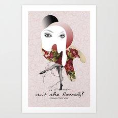 Isn't She Lovely Art Print