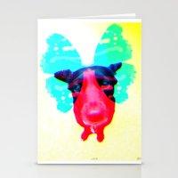 Flying Dog 3 Stationery Cards