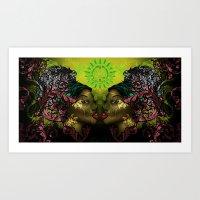 Ital Twins Art Print