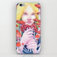 Keeper Of The Scarlet Ga… iPhone & iPod Skin
