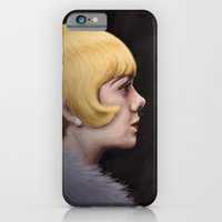iPhone & iPod Case featuring Miss Daisy by Koko Plasma