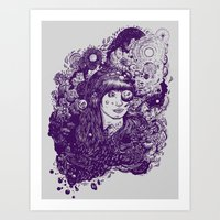 Look At The Light Art Print