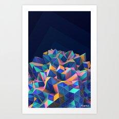 Gemplex Art Print
