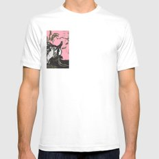 Sheep in Labor Mens Fitted Tee SMALL White