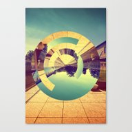 Canvas Print featuring L'Infinito by Victor Vercesi