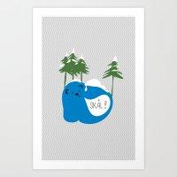 Party Animals - Norwegia… Art Print