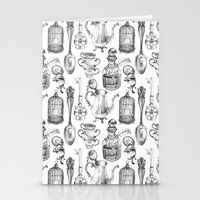 Alice Encounters Stationery Cards