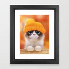 Shui The Kitten Framed Art Print
