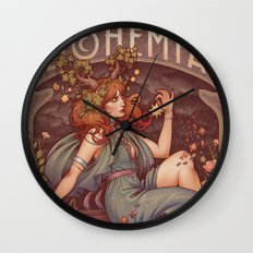 BOHEMIA Wall Clock