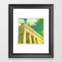 Ancient Sky Framed Art Print