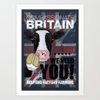 Compassionate Britain We Need You Art Print