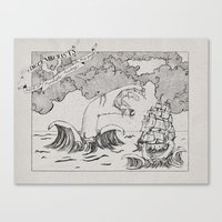 The Decemberists (Analog… Canvas Print